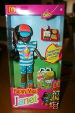 Vintage 1993 McDonald's Happy Meal Janet Doll - New in Box