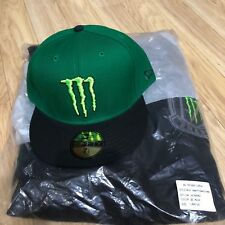 (Sealed) Monster Energy Athlete Only NEW ERA CAP & Zip Up Hoodie L / Redbull UFC