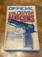 Official 1984 Price Guide To Collector's Hand Guns!  Automatic Revolver .45 9mm