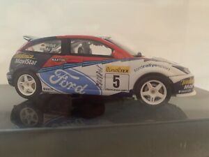 Autoart 1:43 Ford Focus RS WRC 2002 McRae/Grist #5, Rally Monte Carlo, Cased