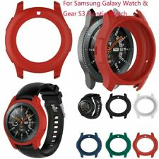 For Samsung Galaxy Watch & Gear S3 Frontie Watch Silicone Case Skin Cover Frame