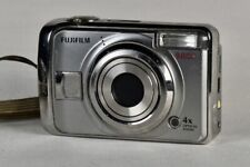Fujifilm FinePix A900 9.0MP Digital Camera Silver Photo Vintage Tested