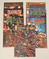 Lot Of 7 Image Superhero Comic Books