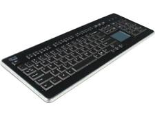 Adesso WKB-4400UB SlimTouch 2.4 GHz RF wireless Full Size Keyboard with Touchpad