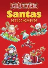 Dover Little Activity Books Stickers: Glitter Santas Stickers by Yu-Mei Han...