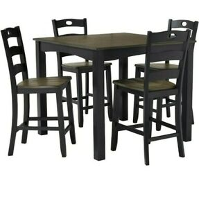 5 pc ashley dining room set BRAND NEW COUNTER HEIGHT