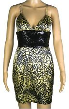 Ladies Marciano Silk Dress Size XS ~ Guess ~ Sequins ~ MBC