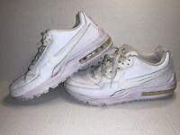 Nike Air Max LTD Athletic Running Sneakers Shoes White 316376-111 Mens Size 10.5