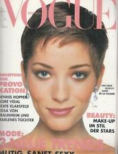 Vogue 93/3 Naomi Campbell, Claudia Schiffer, Kate Moss,Talisa Soto