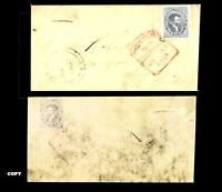 CANADA 1855 10d ENVELOPE TO SCOTLAND ESTIMATE VALUE 3000$ , COPY