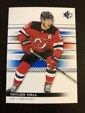 Taylor Hall 2019-20 Upper Deck SP Authentic Blue #86 NJ Devils Sabres