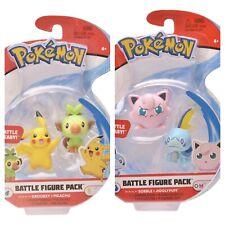 "1 Pokemon Battle 2 Pack Pikachu Grookey OR Jigglypuff Sobble 2"""