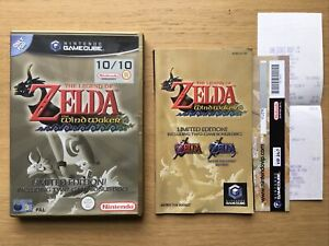 The Legend of Zelda The Wind Waker Gamecube Case + Manual Only NO GAME