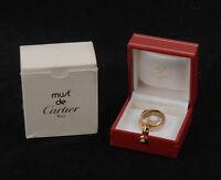 Cartier MUST 48 series DE 47898348 18K tricolor gold Ring