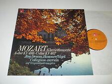LP/MOZART KLAVIERKONZERTE 488/468/JÖRG DEMUS/HAMMERFLÜGEL/BASF 2022477-5 FOC