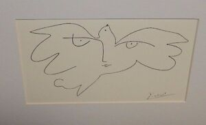 "PICASSO ""YURI GAGARIN"" KING AND MCGAW 1995 LITHOGRAPH"