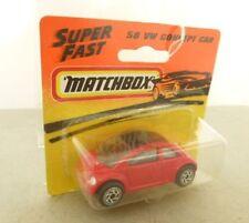 Matchbox 1-75 Plastic Vintage Manufacture Diecast Cars
