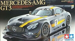 New TAMIYA 1/24 Sports Car Series No.345 Mercedes AMG GT3 Plastic Model 24345