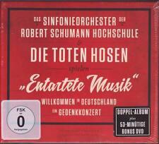 TOTEN HOSEN & SINFONIEORCHESTER Spielen Entartete Musik Gedenkkonzert 2CD DVD