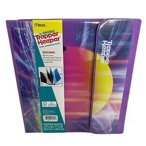 "Trapper Keeper Sunset Binder Retro Style Portfolio Folder 12 3/16"" X 111/4"""