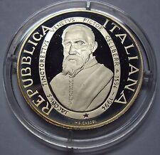 ITALIA REPUBBLICA 1994 1000 LIRE TINTORETTO PROOF FONDO SPECCHIO DA SERIE ZECCA