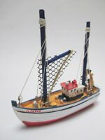 Schiff Modell Fischkutter Nordsee ANNI 11 cm Polyresin ship Collector