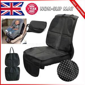 Car Baby Seat Protector Anti-Slip Mat Child Waterproof Cushion Cover UK