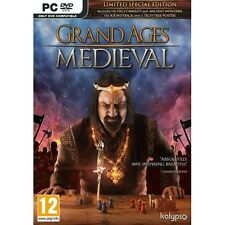 & Grand Ages Medieval Limited Special Edition PC DVD Game