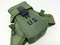 Mint US Military Double 5.56 Magazine Ammo Clip Pouch Alice OD Green 7.62 Mag