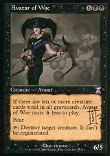 Avatar of Woe - signed V3 | NM | Time Spiral | Magic MTG