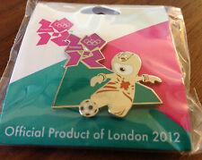 London 2012 Mascot Football Olympic Pin