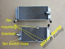ALUMINUM RADIATOR FOR HONDA CRF450X WITH FAN BRACKET AND SWITCH BOSS 2013