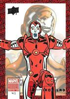 IRON LAD / 2018-2019 MARVEL ANNUAL (Upper Deck 2019) BASE Trading Card #41