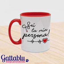 Tazza Sei la mia persona Grey's Anatomy inspired regalo San valentino, rossa