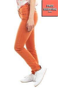 NEUW Jeans W27 L32 Stretch Garment Dye Low Waist Zip Fly Cropped Skinny Fit