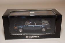 Q MINICHAMPS ROVER VITESSE 3.5 V8 1986 METALLIC BLUE MINT BOXED