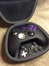 Elite Xbox One 1 Controller - Custom PURPLE Led, Buttons, ABXY Letters FREE S&H