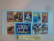 Skateboard Deck 7 Decals Posters Circus Sabine Rancy Perfex 1/43 Ref 109RA