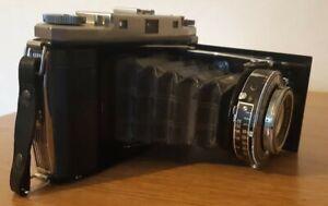 ZEISS IKON 120 CAMERA WITH 105MM TESSAR F4.5 SUPER IKONTA Camera Vintage Rare