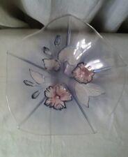 Calypso Mikasa 13 inch Crystal Fruit Glass Bowl- new