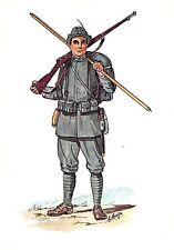C5000) 5 REGGIMENTO ALPINI TENUTA DI MARCIA NEL 1915.