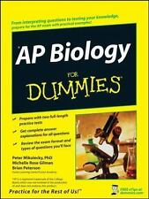 AP Biology For Dummies, Mikulecky, Peter J., Gilman, Michelle Rose, Peterson, Br