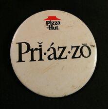 Vintage Pizza Hut Restaurant Advertising Pinback Button Collectible