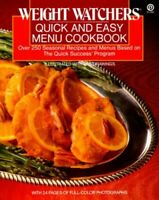 Weight Watchers Quick And Easy Menus: Over 250 S... by Weight Watchers Paperback