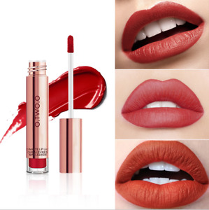 Long Lasting Matte Liquid Lipstick Lip Gloss Waterproof Beauty Makeup 12Color