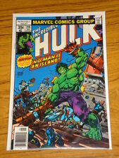 INCREDIBLE HULK #219 VOL1 MARVEL COMICS JANUARY 1978