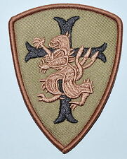 NAVY SEAL TEAM 6 DEVGRU LION CROSS CRUSADER SHIELD TACTICAL Iron On patches