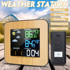 Indoor Outdoor Wireless Weather Station & Sensor Temperature Humidity Barometer