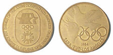YUGOSLAVIA  - 1984 Sarajevo Olympic Games & Los Angeles - medallion token