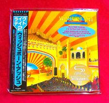 Wishbone Ash Live Dates Volume 2 JAPAN SHM MINI LP CD 2 X CD UICY-94496-97
